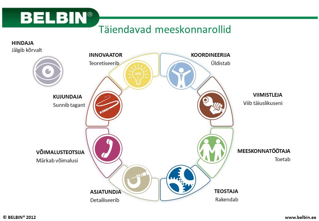 Belbini meeskonnarollid - Täiendavad meeskonnarollid