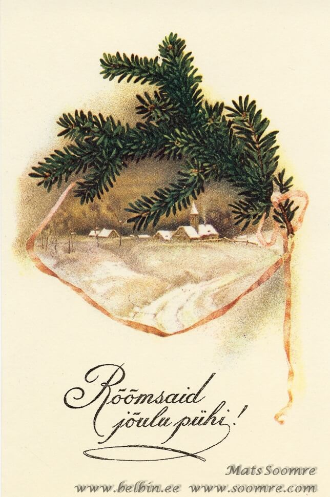 Jõulud, jõulukaart ja jõulusoovid 2012