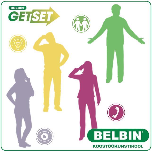 Belbin Noortele - Belbin GetSet - Meeskonnatöö